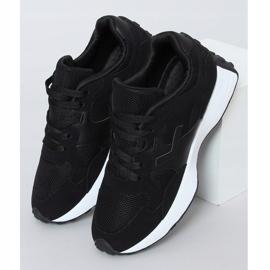 Buty sportowe czarne BL209P Black 1