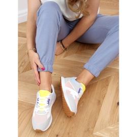 Buty sportowe damskie wielokolorowe NB372 LT.PINK białe niebieskie różowe szare żółte 2