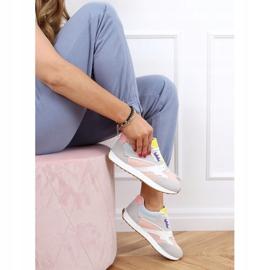 Buty sportowe damskie wielokolorowe NB372 LT.PINK białe niebieskie różowe szare żółte 3