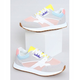 Buty sportowe damskie wielokolorowe NB372 LT.PINK białe niebieskie różowe szare żółte 1