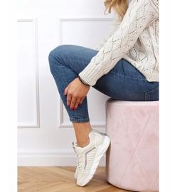Buty sportowe damskie beżowe J143 Beige beżowy 3