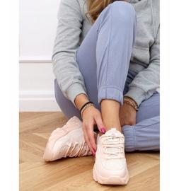 Buty sportowe damskie różowe NB373P Pink 2