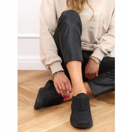 Buty sportowe damskie czarne LA131 Black 2
