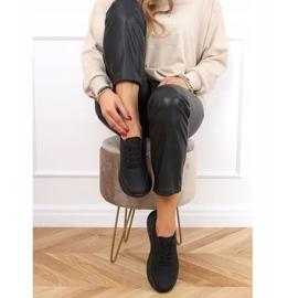 Buty sportowe damskie czarne LA131 Black 3