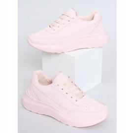 Buty sportowe damskie różowe LA131 Pink 1