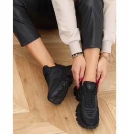 Buty sportowe czarne LA155P Black 3