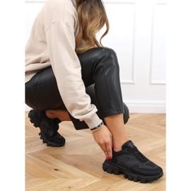Buty sportowe czarne LA155P Black 2