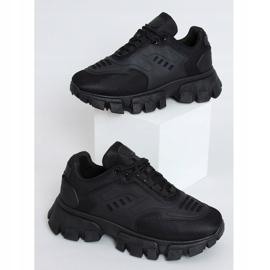 Buty sportowe czarne LA155P Black 1