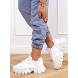 Buty sportowe białe LA155P White 3