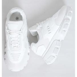 Buty sportowe białe LA155P White 1