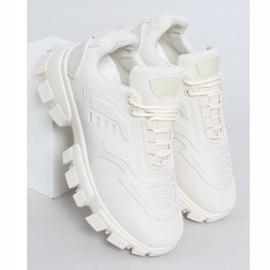 Buty sportowe beżowe LA155P Beige beżowy 1