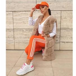 Kylie Klasyczne Obuwie Sportowe białe różowe 6