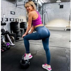 Kylie Klasyczne Obuwie Sportowe białe różowe 8