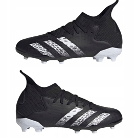Buty piłkarskie adidas Predator Freak.3 Fg Junior FY1031 czarne czarne 7