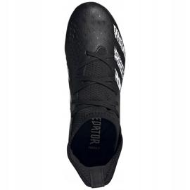 Buty piłkarskie adidas Predator Freak.3 Fg Junior FY1031 czarne czarne 5