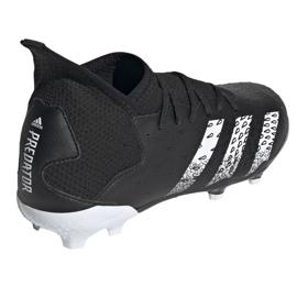 Buty piłkarskie adidas Predator Freak.3 Fg Junior FY1031 czarne czarne 4