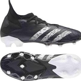 Buty piłkarskie adidas Predator Freak.3 Fg Junior FY1031 czarne czarne 8