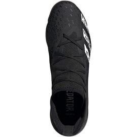 Buty piłkarskie adidas Predator Freak.3 In FY1032 czarne czarne 2