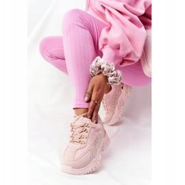 PS1 Damskie Sneakersy Na Dużej Podeszwie Różowe Good Mood 2