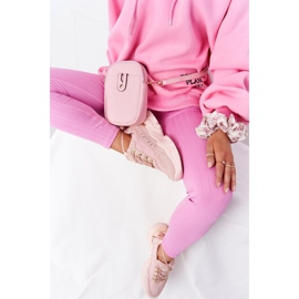 PS1 Damskie Sneakersy Na Dużej Podeszwie Różowe Good Mood 6