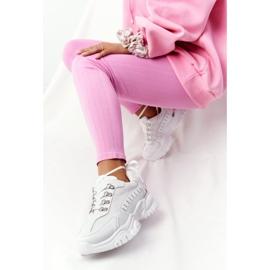 PS1 Damskie Sneakersy Na Dużej Podeszwie Białe Good Mood 2