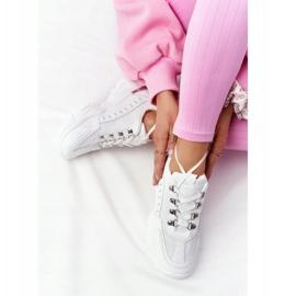 PS1 Damskie Sneakersy Na Dużej Podeszwie Białe Good Mood 3