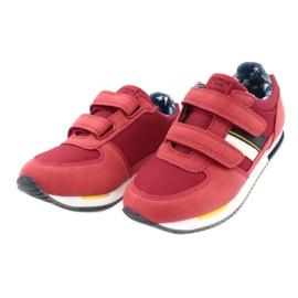 American Club Sportowe buty American czerwone RH24 2