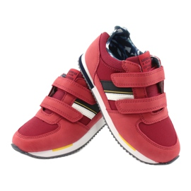 American Club Sportowe buty American czerwone RH24 4