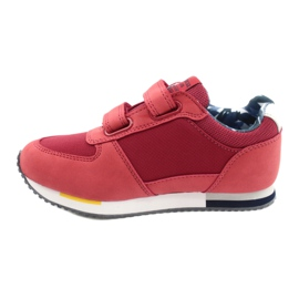 American Club Sportowe buty American czerwone RH24 1