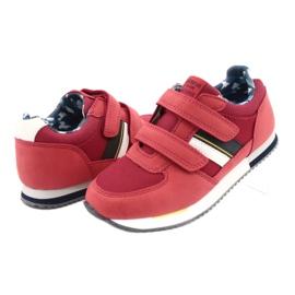 American Club Sportowe buty American czerwone RH24 3