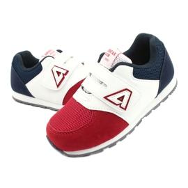 American Club Buty sportowe wkładka skórzana American BS01 BS02 Red białe czerwone granatowe 2
