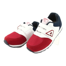 American Club Buty sportowe wkładka skórzana American BS01 BS02 Red białe czerwone granatowe 1