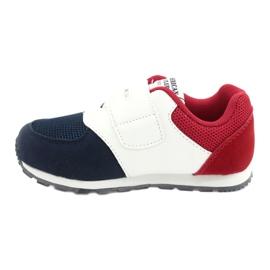 American Club Buty sportowe wkładka skórzana American BS01 BS02 Navy białe czerwone granatowe 1