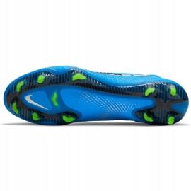 Buty piłkarskie Nike Phantom Gt Elite Dynamic Fit Fg M CW6589 400 niebieskie niebieskie 2