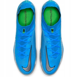 Buty piłkarskie Nike Phantom Gt Elite Dynamic Fit Fg M CW6589 400 niebieskie niebieskie 4