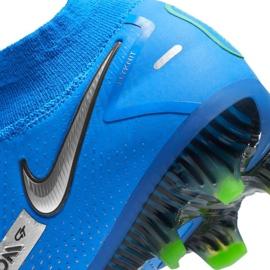 Buty piłkarskie Nike Phantom Gt Elite Dynamic Fit Fg M CW6589 400 niebieskie niebieskie 7