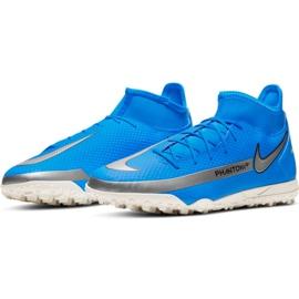 Buty piłkarskie Nike Phantom Gt Club Df Tf M CW6670 400 niebieskie niebieskie 3