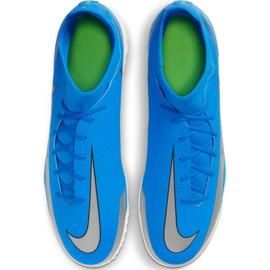 Buty piłkarskie Nike Phantom Gt Club Df Tf M CW6670 400 niebieskie niebieskie 4