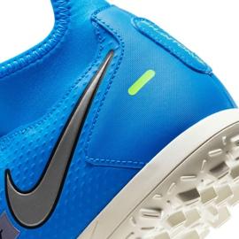 Buty piłkarskie Nike Phantom Gt Club Df Tf M CW6670 400 niebieskie niebieskie 7