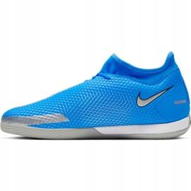 Buty piłkarskie Nike Phantom Gt Academy Df Ic Jr CW6693 400 niebieskie niebieskie 1