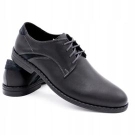 Lukas Eleganckie buty męskie 253LU czarne 4