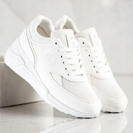 SHELOVET Casualowe Białe Sneakersy 3
