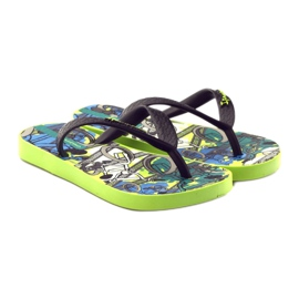 Klapki buty dziecięce na basen Ipanema 81713 czarne wielokolorowe 4