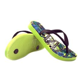 Klapki buty dziecięce na basen Ipanema 81713 czarne wielokolorowe 3