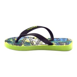 Klapki buty dziecięce na basen Ipanema 81713 czarne wielokolorowe 2