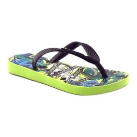 Klapki buty dziecięce na basen Ipanema 81713 czarne wielokolorowe 1