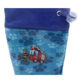 American Club American Niebieskie Kalosze Strażak KAL04 czerwone 5
