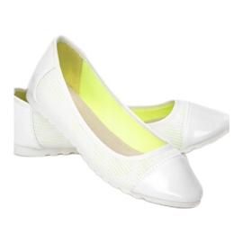 Vices 5061-41 White 36 41 białe zielone 2