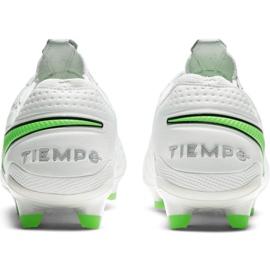Buty piłkarskie Nike Tiempo Legend 8 Elite Fg M AT5293 030 białe białe 4