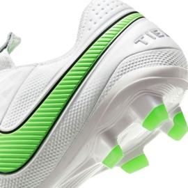 Buty piłkarskie Nike Tiempo Legend 8 Elite Fg M AT5293 030 białe białe 7